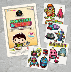 MONSTERS & ROBOTS PACK (12 designs)