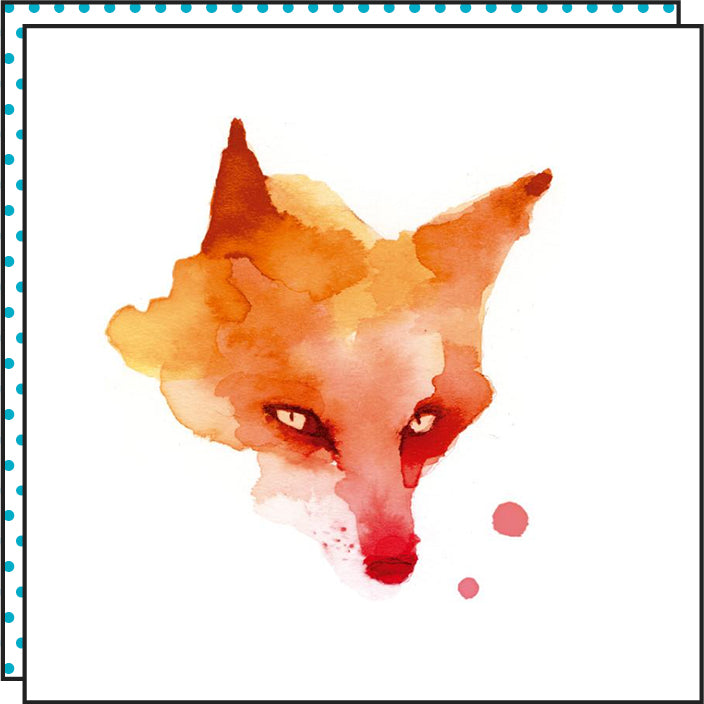 Tattoonie Temporary Tattoos Fox