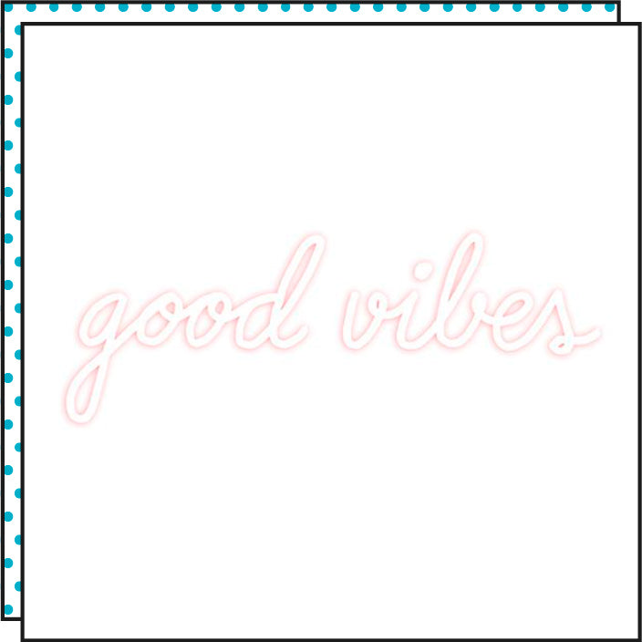 Tattoonie Temporary Tattoos Good Vibes
