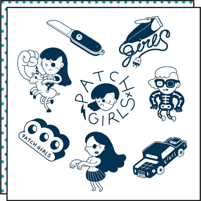PATCH GIRLS (Pack de 8)