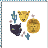 WILD ANIMALS (Pack de 2)