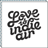 LOVE IS INDIE AIR (Pack de 2)