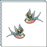 FLYING FREE (Set of 2)