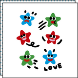 TATTOO STARS (Pack de 2)