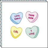 HEART MESSAGES (Pack de 2)
