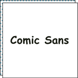 COMIC SANS (Set of 2)