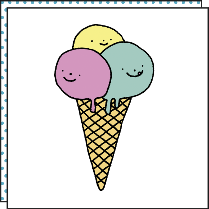 Tattoonie Temporary Tattoos Ice Cream