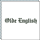 OLDE ENGLISH (Set of 2)