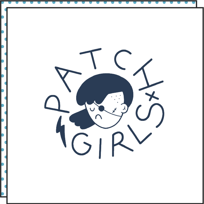 patch girls' flag by brosmind