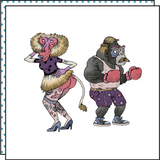 THE PINUP & THE BOXER (Pack de 2)