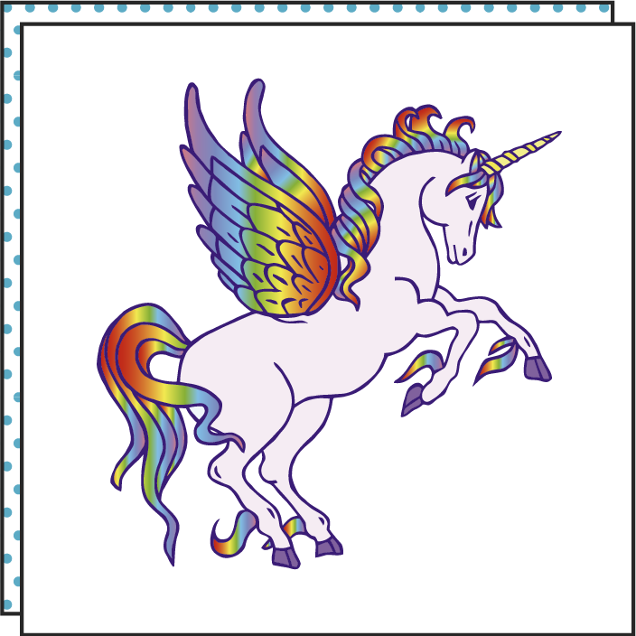 tattoonie temporary tattoos unicorn