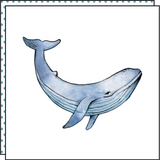tattoonie temporary tattoos whale