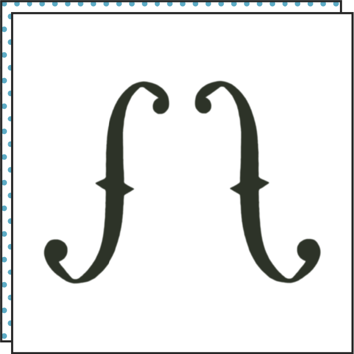 THE F (Set of 2)