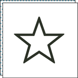 THE STAR (Set of 2)