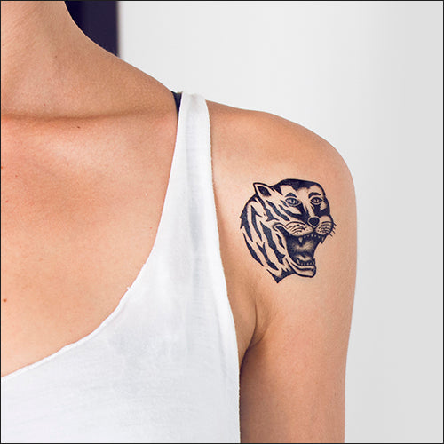 Tattoonie Temporary Tattoos tiguer