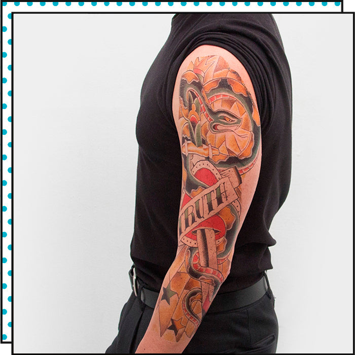 ARM TATTOO REAL LOVE (Pack de 1)