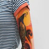 ARM TATTOO PEACOCK (Pack de 1)