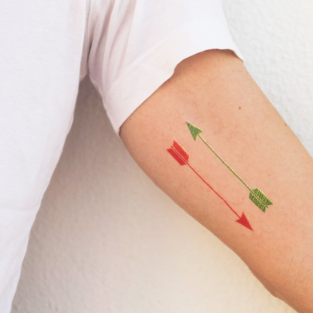 tattoonie temporary tattoos arrow