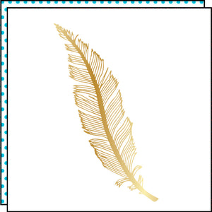 Befeather gold (Set of 2)