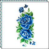 BLUE FLOWERS (Set of 2)