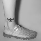Tattoonie Temporary Tattoos paper boat