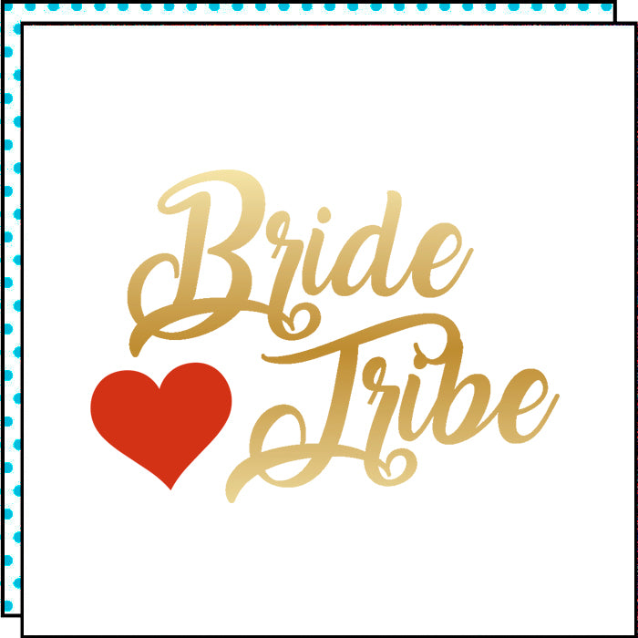 BRIDE TRIBE (Pack de 2)