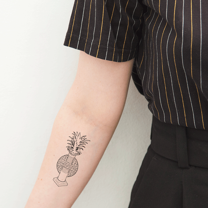 Tattoonie Temporary Tattoos column