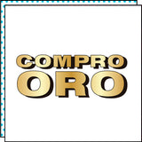 COMPRO ORO (Set of 2)