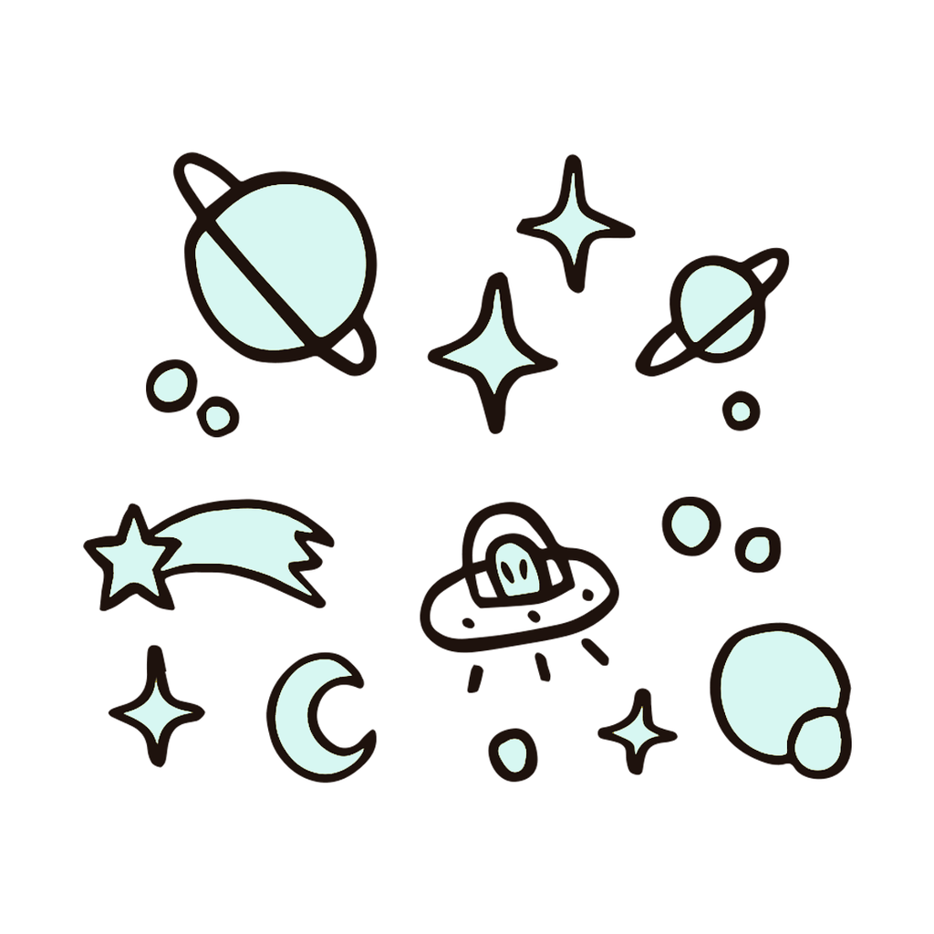 TINY COSMOS (pack de 2)