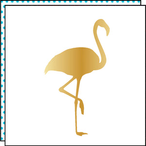 GOLD FLAMINGO (Set of 2)