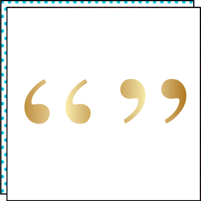 Golden Quotes (Pack de 2)