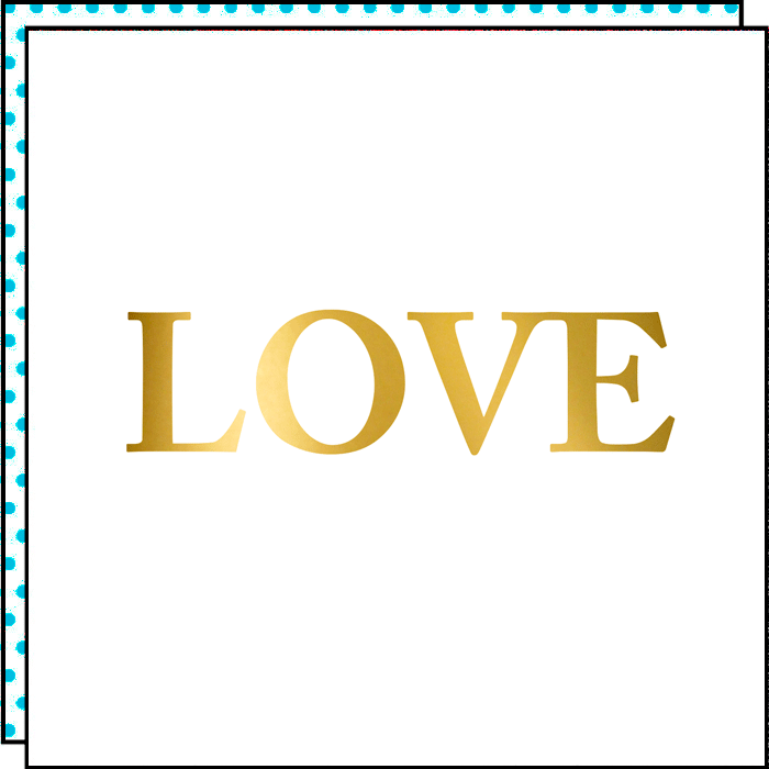 GOLDEN LOVE (set of 2)