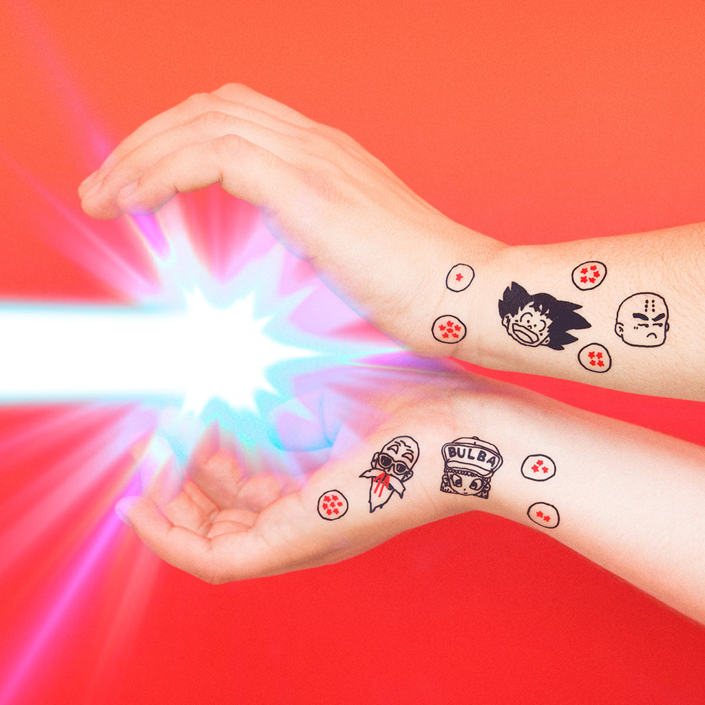 Tattoonie Temporary Tattoos dragon mal dragon ball