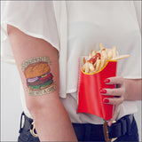 Tattoonie Temporary Tattoos Guilty Burger