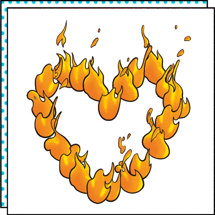 HEART ON FIRE (Pack de 2)