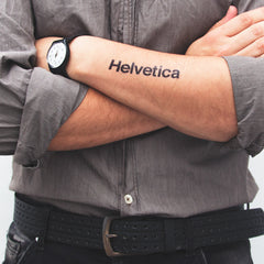 HELVETICA (set of 2)