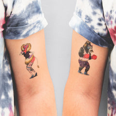 THE PINUP & THE BOXER (set of 2)
