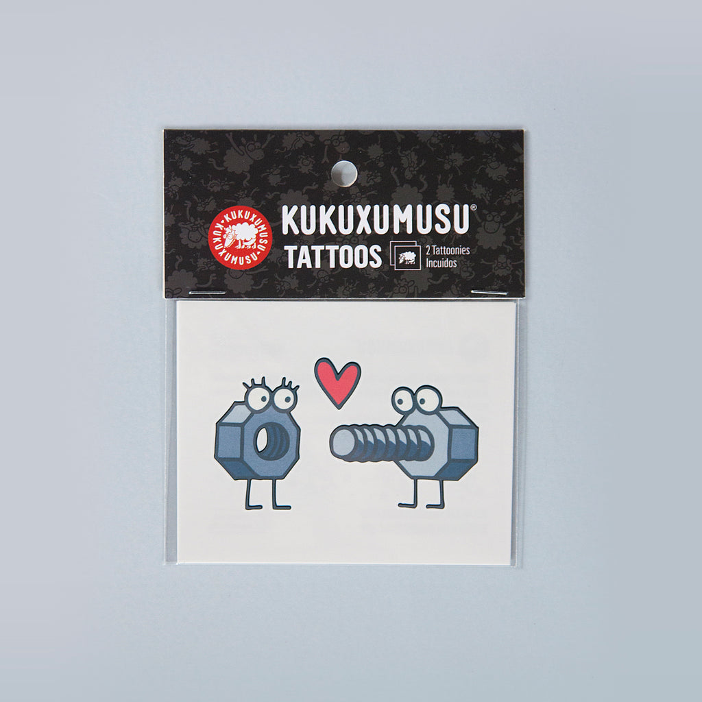 kukuxumusu tattoonie temporary tattoos