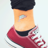 tattoonie temporary tattoos dolphin