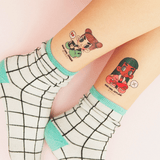 bad girl good girn internet oh caroool temporary tattoo