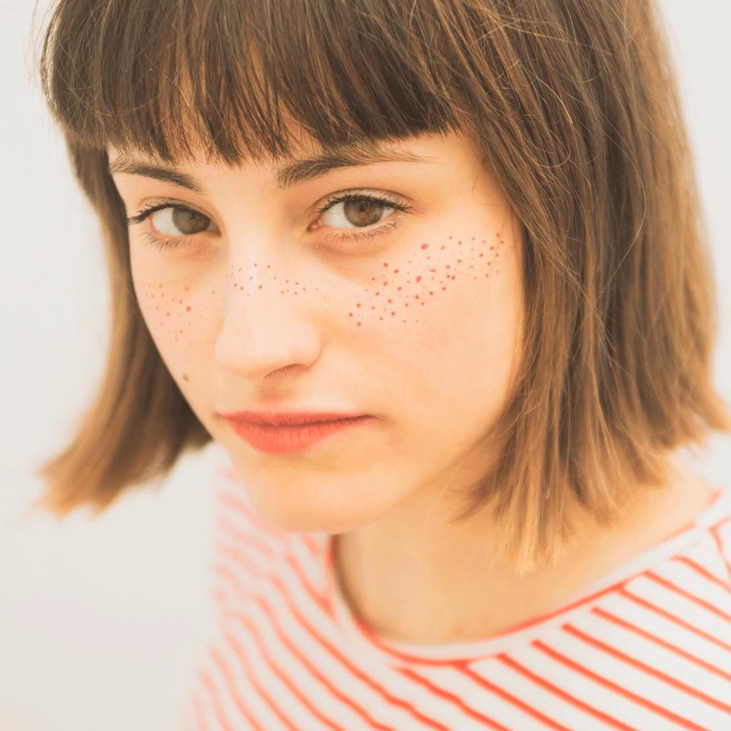 tattoonie temporary tattoos dots face freckles