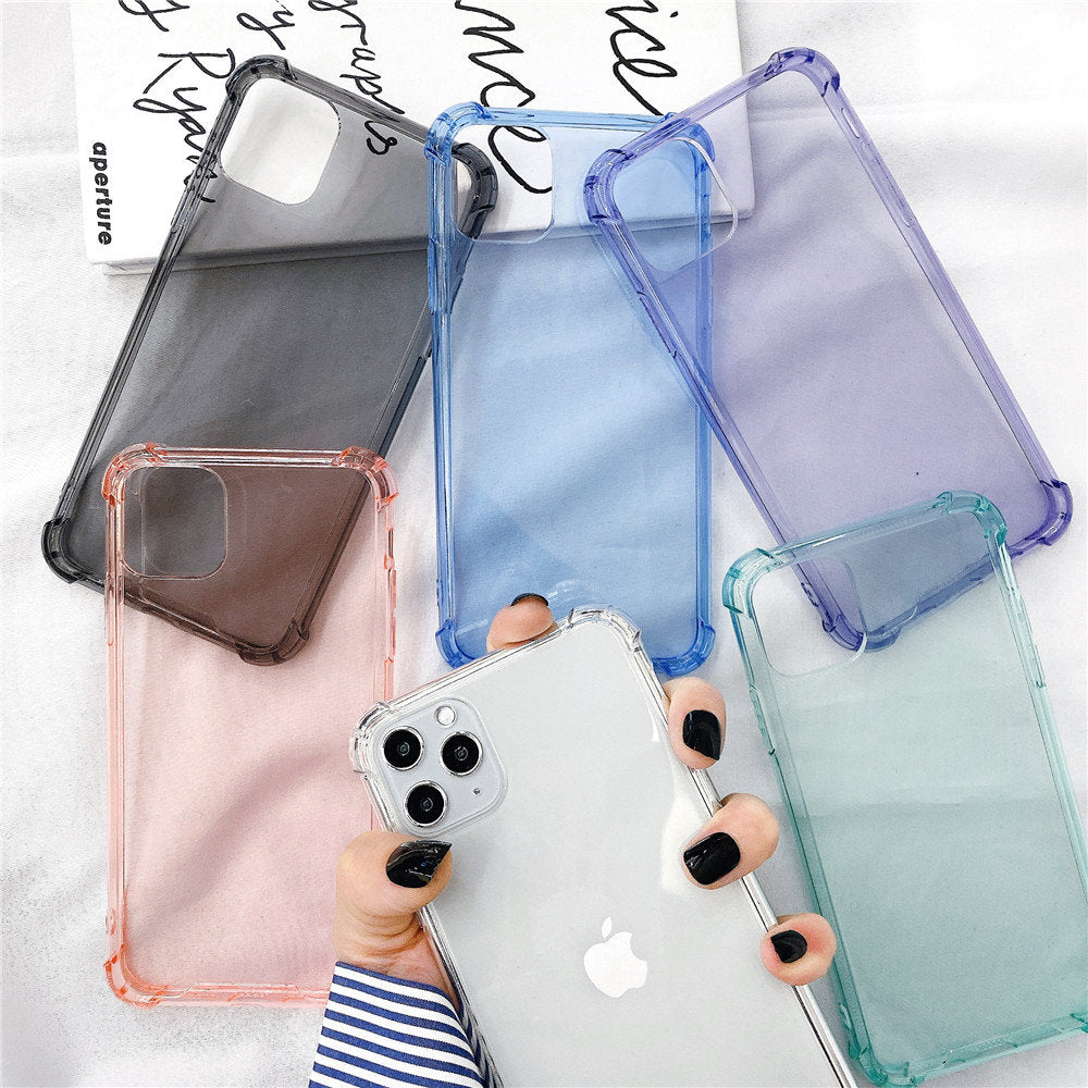 Funda transparente iPhone
