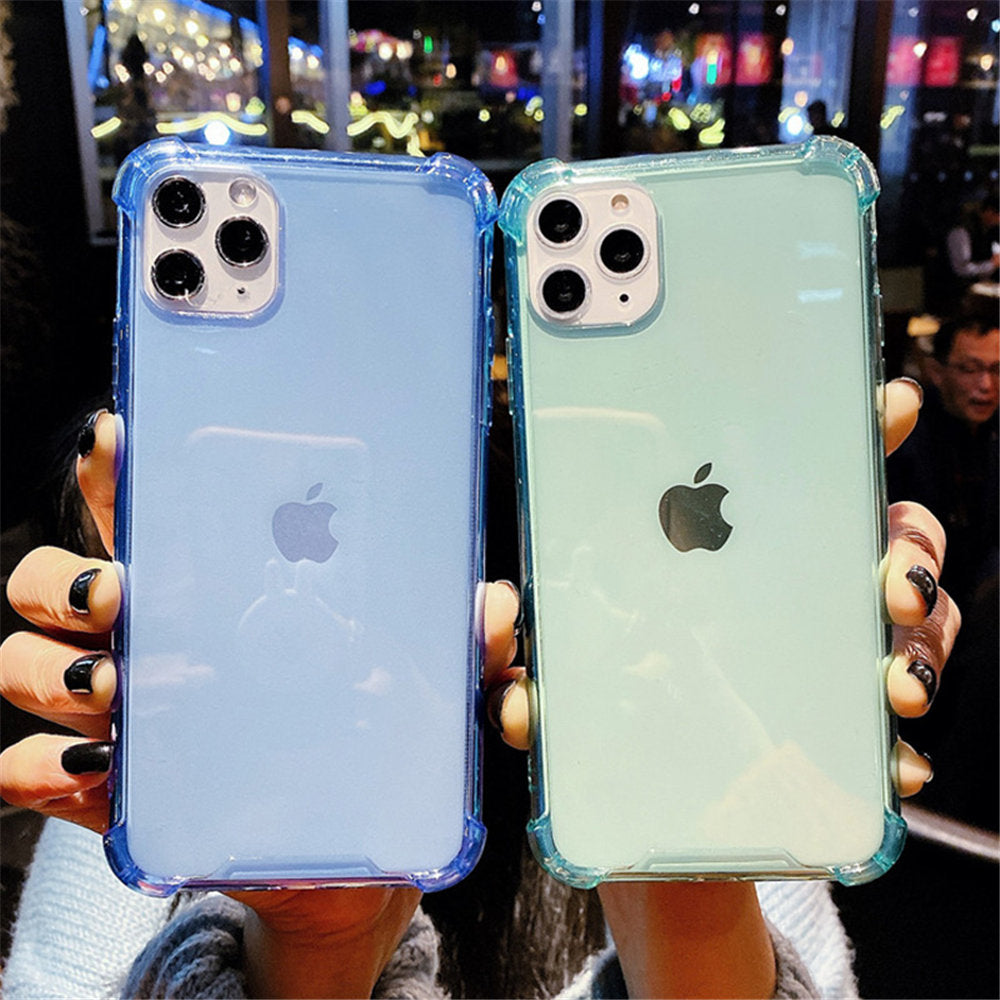 Clear Shockproof Phone Case For iPhone 11