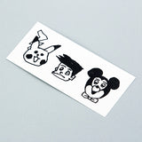 Tattoonie Temporary Tattoos suneo picachu mickey
