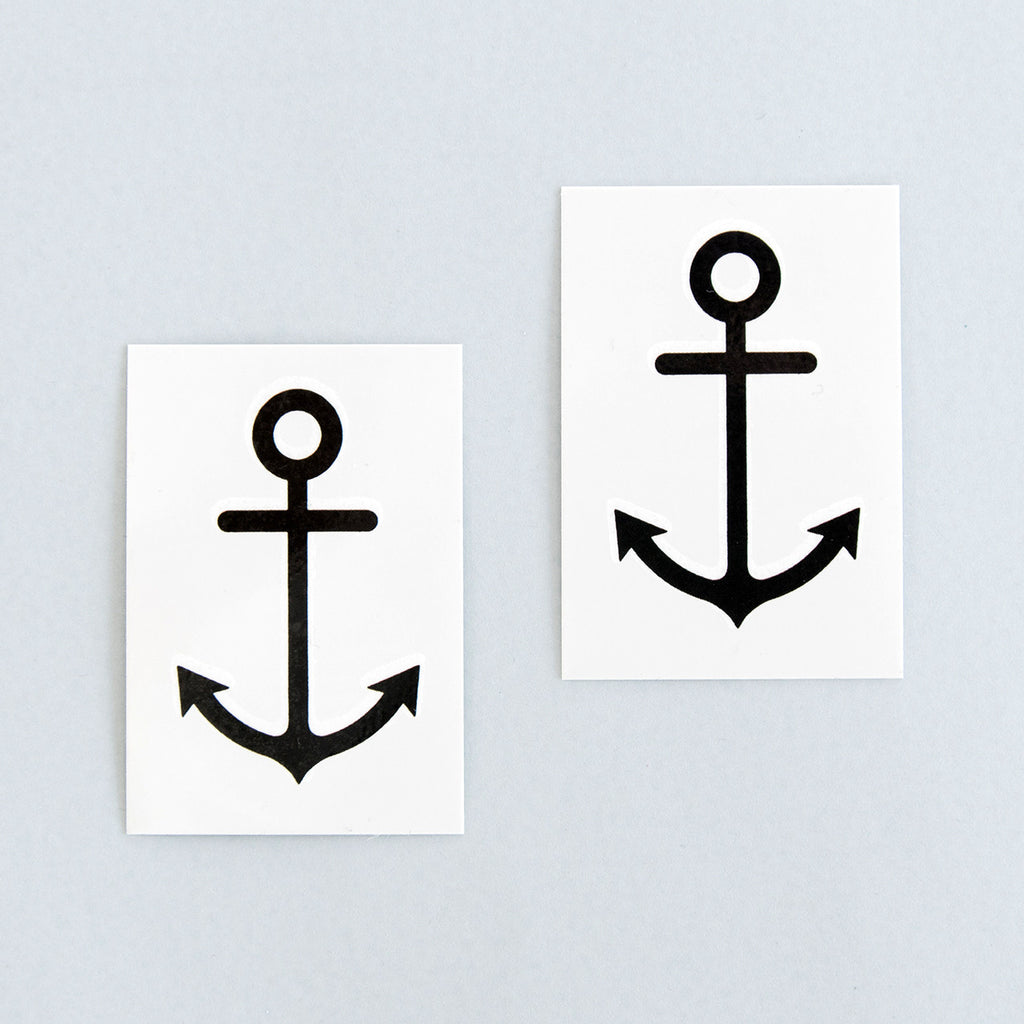 Tattoonie Temporary Tattoos the anchor