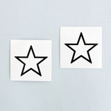 Tattoonie Temporary Tattoos star