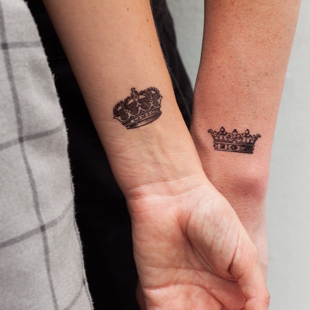 QUEEN AND KING (Pack de 2)