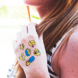 Tattoonie Temporary Tattoos da suisa the simpson