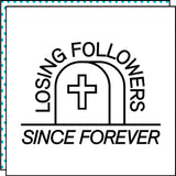 realmente bravo lossing followers tattoo