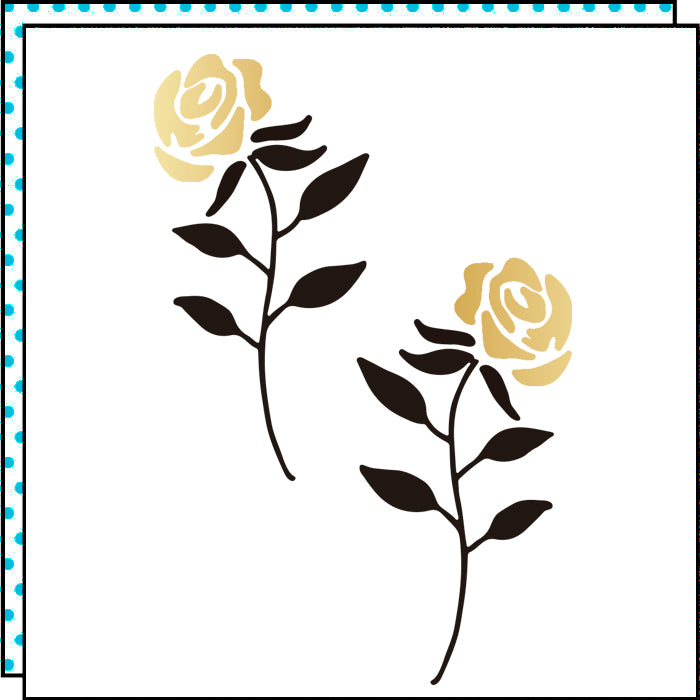 Roses of Gold (Set of 2)